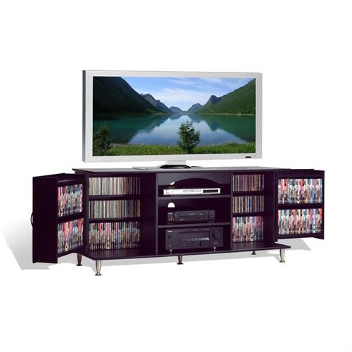 View a large image of the Prepac 60 inch TV Console with Media Storage (Black) BPS-6000-K here.
