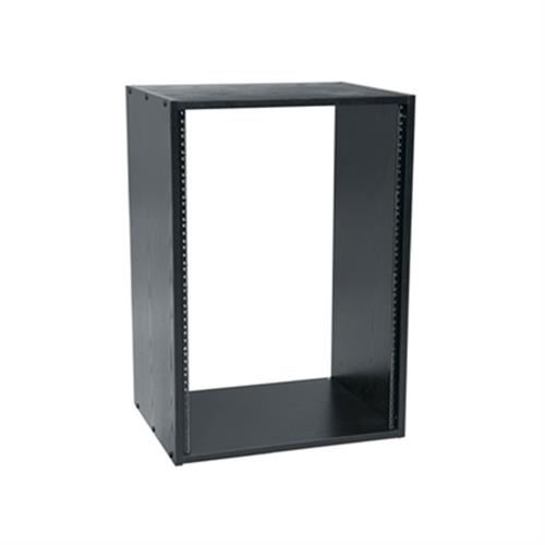 View a larger image of the Middle Atlantic Laminate Rack (16RU, 28 D, Black) BRK16-28.