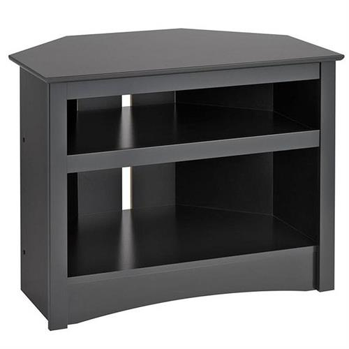 View a larger image of the Prepac Sonoma Collection Corner TV Stand for Screens up to 32 inches (Black) BTV-3224.