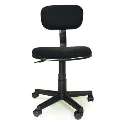 View another large image of the Living Essentials Junior Task Chair (Black) COFBK0886 here.