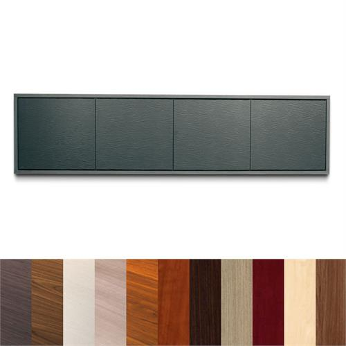 View a larger image of Middle Atlantic Credenza (4 Bay, 10 D, 32 H, Wood Kit, Frame) C3C4D1M.
