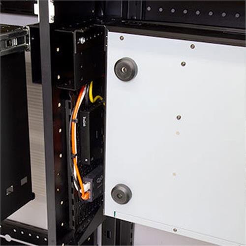 View a larger image of Middle Atlantic Rack Kit (Stationary, 4 RU, Thermostat) C3TECHKIT4-ST.