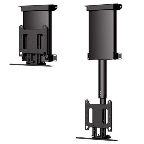 View a large image of the Chief Automated Universal Flat Panel Ceiling Lift for 32-61 inch Screens Black CM2C40U here.
