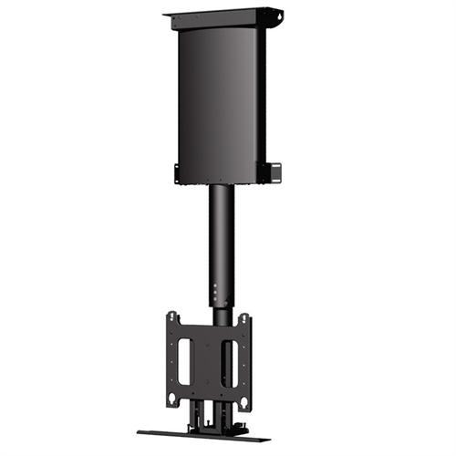 View a large image of the Chief Automated Flat Panel Ceiling Lift for 32-61 inch Screens Black CM2C40 here.