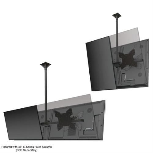View a large image of the Crimson VESA 400x400 Back to Back 2x1 Ceiling Mount Kit CMD2KIT-4V here.