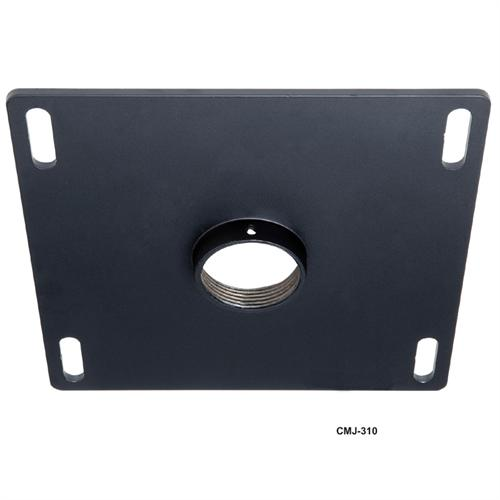 View a large image of the Peerless 8x8 Unistrut or Structural Ceiling Plate CMJ310 here.