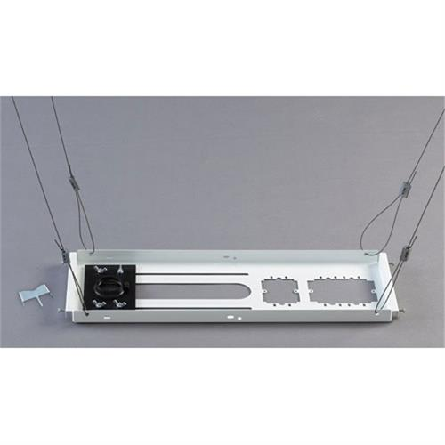 View a large image of the Chief Speed Connect Lightweight Suspended Ceiling Kit White CMS440 here.