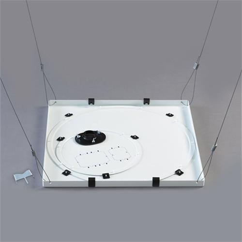 View a large image of the Chief Speed Connect Suspended Ceiling Tile Replacement Kit White CMS445 here.