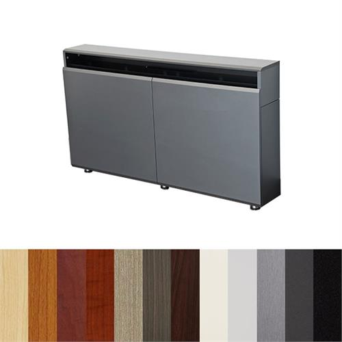 View a large image of the AVFI CR2-WM Dual Rack Wall Mounted Credenza Various Colors here.