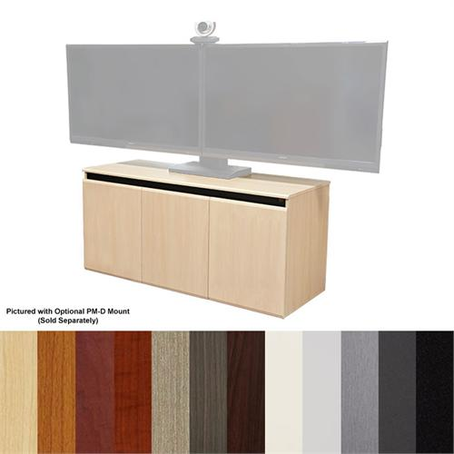 View a large image of the Audio Visual Furniture - VFI Video Conferencing Credenza Various Colors CR3000EX here.