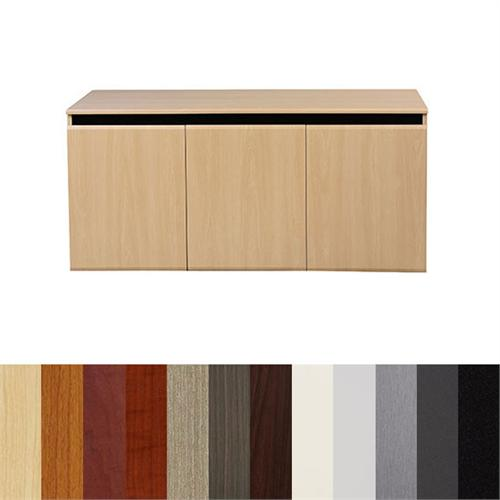 View a large image of the Audio Visual Furniture - VFI 30 inch Deep Video Conferencing Credenza Various Colors CR3030EX here.