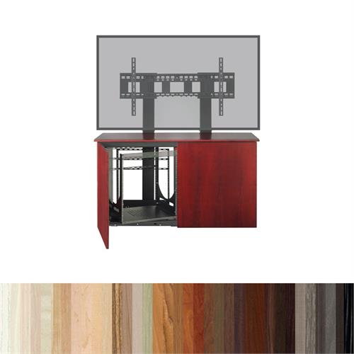 View a larger image of the AVTEQ Credenza (Single or Dual Mount, 12U, 2 Bay, Laminate) CREDENZA2-L.