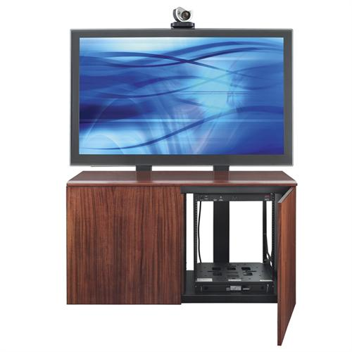 View a larger image of the AVTEQ Credenza TV Cabinet for 70 in. Single or 55 in. Dual Screens (Various Laminate Finishes) CREDENZA2-L.