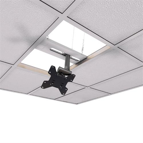 View a large image of the Crimson CXT-KIT2 Extreme Tilt Above Grid Ceiling Kit 6-11 in. Ext here.