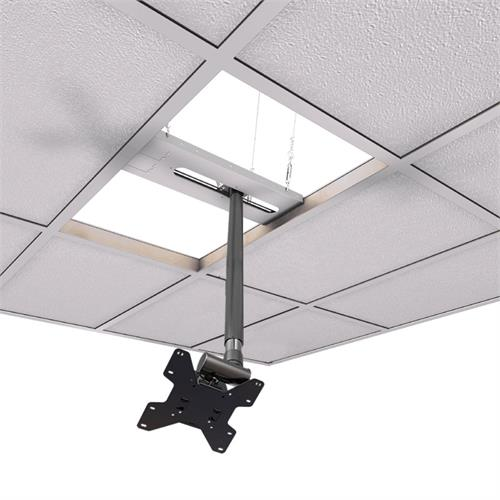 View a large image of the Crimson CXT-KIT4 Extreme Tilt Above Grid Ceiling Kit 18-24 in. Ext here.