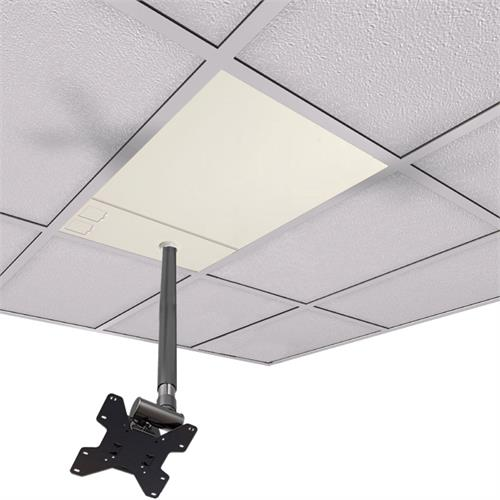 View a large image of the Crimson CXT-KIT8 Extreme Tilt 2x2 Tile Ceiling Kit 18-24 in. Ext here.