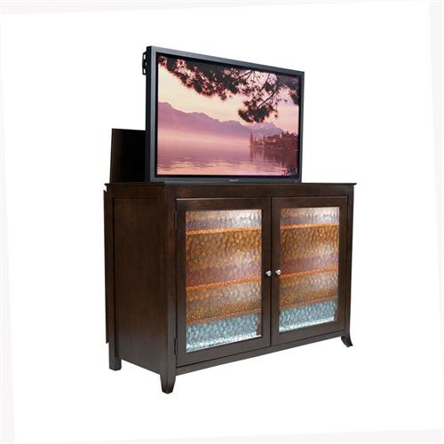 View a larger image of the Touchstone Carmel Theater Lift Cabinet for 32-60 inch Screens (Espresso) 70065.