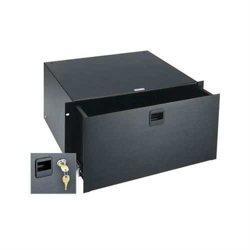 View a larger image of the Middle Atlantic Rack Drawer (5 RU, Anodized, Lock) D5LK.