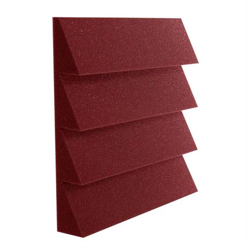 View a large image of the Auralex Acoustics Designer Series 4 Ridge Square Foot StudioFoam Burgundy Pack of 96 DST114BUR_MSTR here.