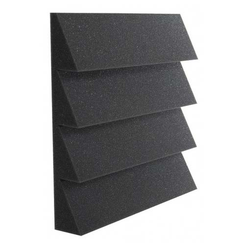 View a large image of the Auralex Acoustics Designer Series 4 Ridge Square Foot StudioFoam Charcoal Pack of 24 DST114CHA24 here.