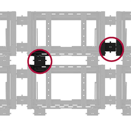 View a large image of the Peerless Custom Wall Plate Spacer Kit for DSVW Video Wall Systems Black DSVWS here.