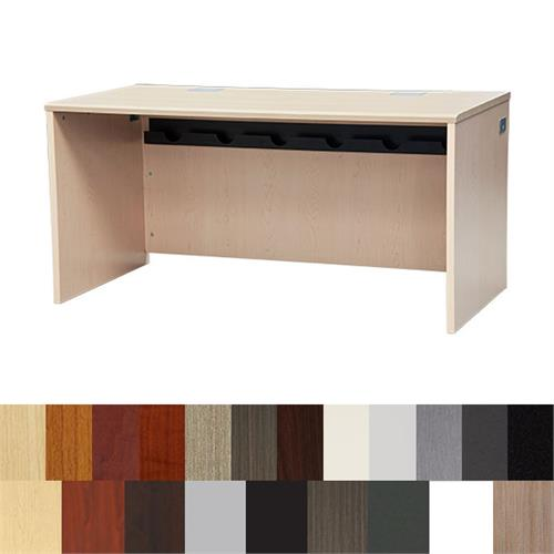 View a large image of the Audio Visual Furniture - Teacher Student Desk Multi-Finish DSYZ6030EX here.