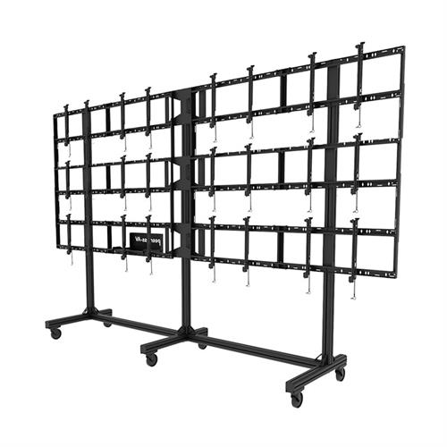 View a large image of the Peerless 4x3 Video Wall Cart DS-C555-4X3 here.