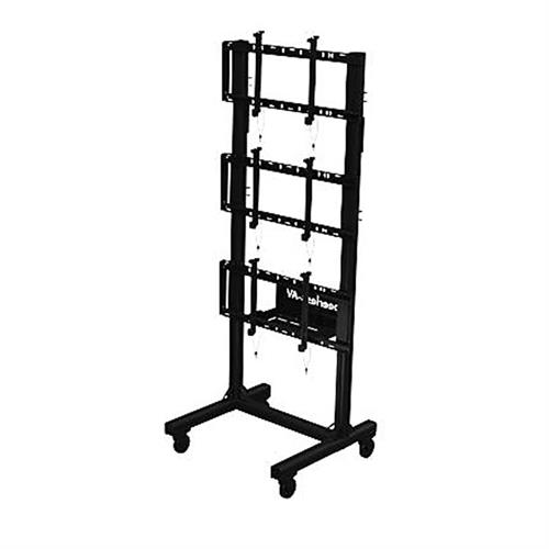 View a large image of the Peerless 1x3 Video Wall Cart DS-C560-1X3 here.