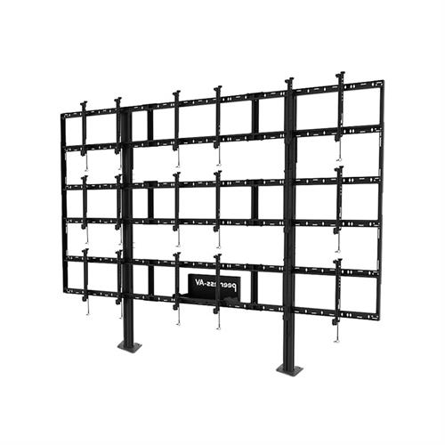 View a large image of the Peerless 3x3 Video Wall Bolt Down Stand DS-S555-3X3 here.