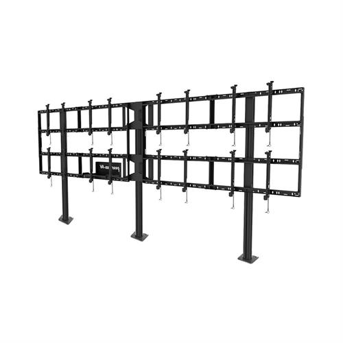 View a large image of the Peerless 4x2 Video Wall Bolt Down Stand DS-S555-4X2 here.