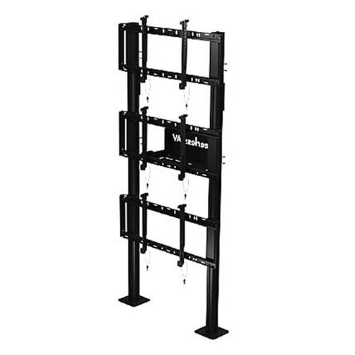 View a large image of the Peerless 1x3 Video Wall Bolt Down Stand DS-S560-1X3 here.