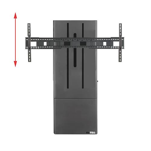 View a larger image of the AVTEQ DynamiQ Motorized Height Adjust Wall Stand (300 lb) D-WMS.