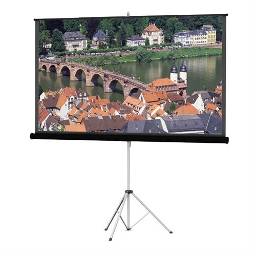 View a larger image of the Da-Lite 36474 Picture King Tripod Screen (HC Matte White, 16:9, 106 Inch).