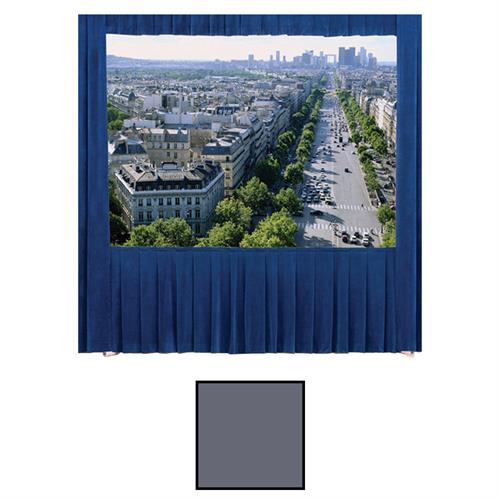 View a larger image of the Da-Lite 36635BU Fast-Fold Truss Drapery Kit (Gray Drapes, 16:9, 10x17, 220 Inch).
