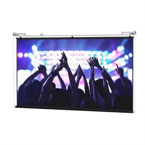 View a larger image of the Da-Lite 80836 Motorized Scenic Roller (Matte White, 4:3, 12x16 ft, 240 inch).