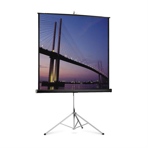 View a larger image of the Da-Lite 93872 Picture King Tripod Screen (Matte White, Carpet, 1:1, 119 Inch).