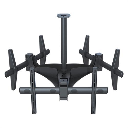 View a large image of the Premier Mounts Triple Ceiling Mount ECM-3000 here.