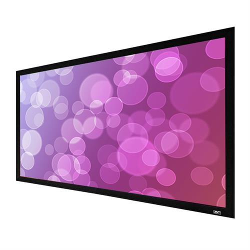 View a large image of the Elite Screens 110 inch Sable Frame 2 Projection Screen (CineWhite) ER110WH2 here.
