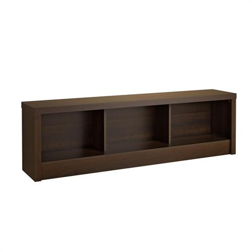 View a large image of the Prepac Series 9 Designer Cubbie Bench Espresso EUBD-0500-1 here.