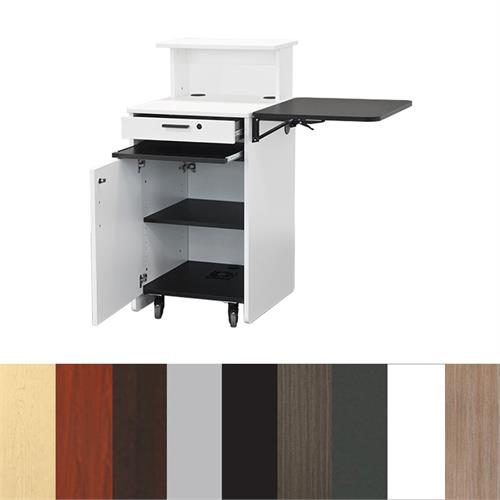 View a large image of the Audio Visual Furniture EWS10 Educational Workstation Various Colors here.