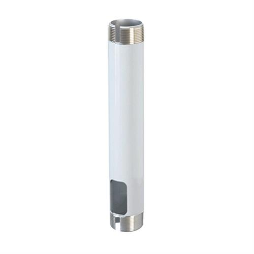 View a large image of Peerless Fixed Extension Column (7 Feet, White) EXT107-W.
