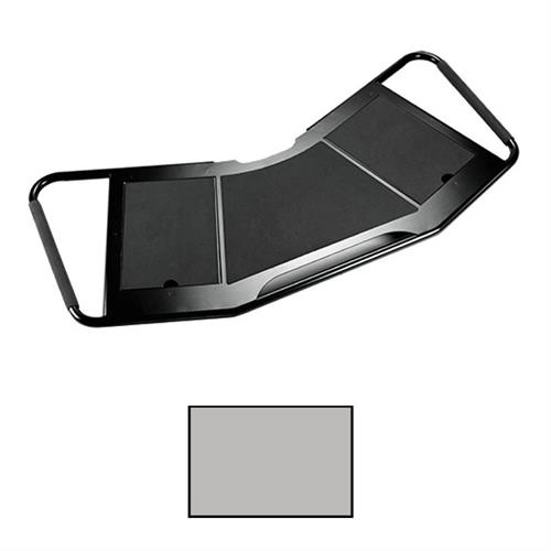 View a large image of the Chief FCA613S FUSION Large Silver Accessory Shelf for Carts here.