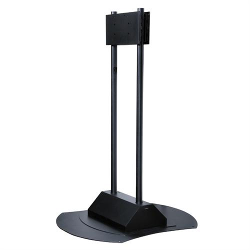 View a large image of the Peerless FPZ-670 Flat Screen Floor Pedestal for 50-90 inch Screens here.