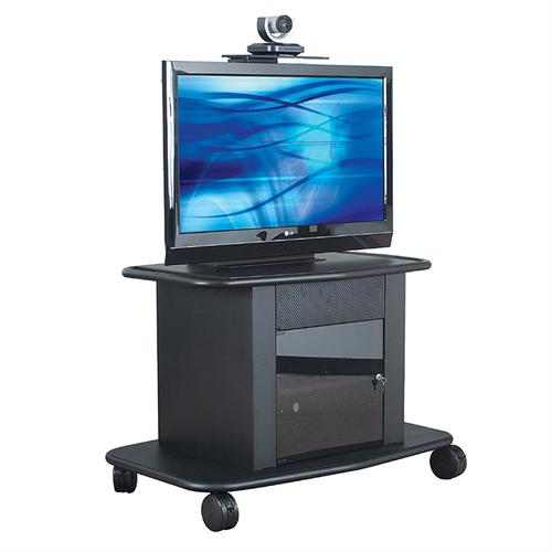 View a larger image of the AVTEQ Corporate Series Extra Deep Multimedia Cart for 26-42 inch Screens GMP-350S-TT1.