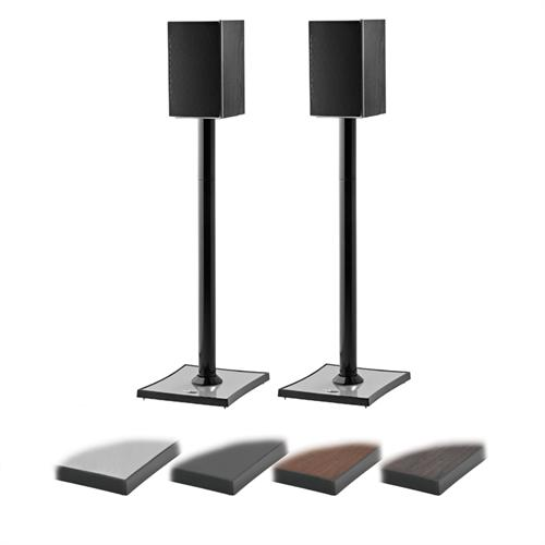 View a large image of the OmniMount GEMINI2 24 or 31 inch Speaker Stands Black GEMINI2 here.