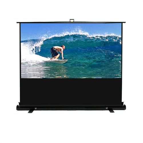 View a large image of the Elite Screens ezCinema Plus 16:9 Widescreen Scissor Pull-Up Projector Screen Stand HDTV-F here.
