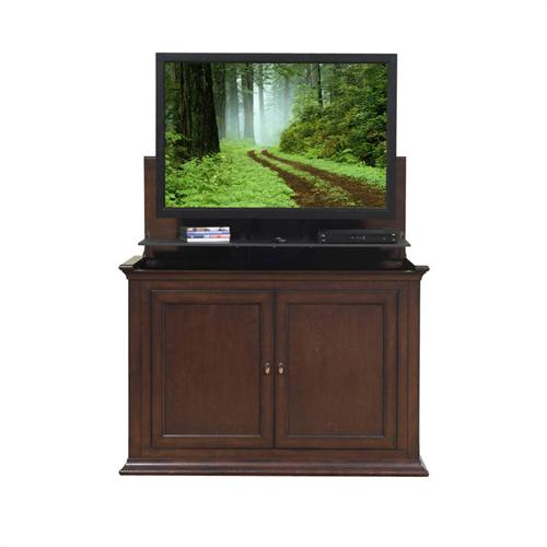 View a larger image of the Touchstone Harrison End of Bed or Anyroom Lift Cabinet for 24-50 inch Screens (Espresso) 73008.