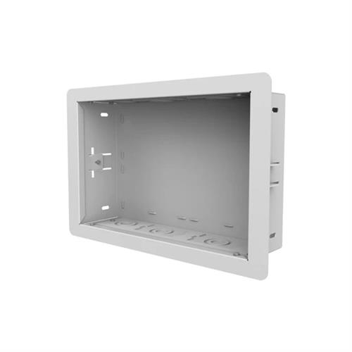View a larger image of the Peerless-AV In-wall Storage Box (14x9, White) IB14X9-W.