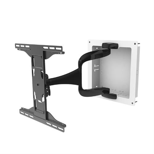 View a larger image of the Peerless-AV Large Designer Articulating TV Mount (In-Wall Box) IM747PU.