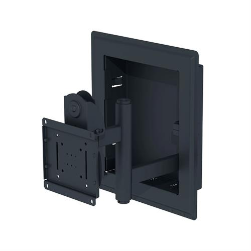 View a large image of the Peerless In-Wall Articulating VESA Mount for 32-71 inch Screens Black or Silver IM760P here.